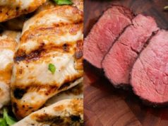 Chicken over red meat, white meat Vs red meat