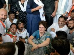Priyanka Gandhi hopes for Congress in Uttar Pradesh, Uttar Pradesh politics by Congress party, Sonbhadra Congress party protest, Congress party protest in sonbhadra