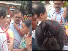 BMC Mayor misbehaving with woman, video of vishwanath Mahadeshwar, mom son electrocuted in Mumbai