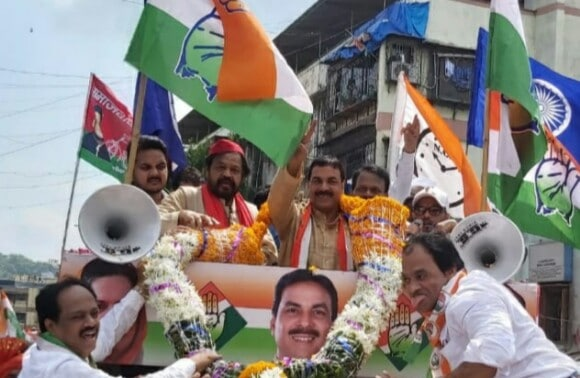 Congress party MLA Naseem Khan nomination for assembly election 2019, assembly election 2019 Chandivali, Chandivali Mumbai election 2019