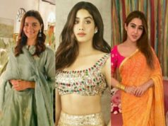 Diwali fashion by Alia Bhatt, Diwali fashion by Sara Ali khan,