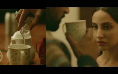 Poison drinking scene from Pachtaoge song, killing in Pachtaoge song, murder in relationship, love story of betrayal
