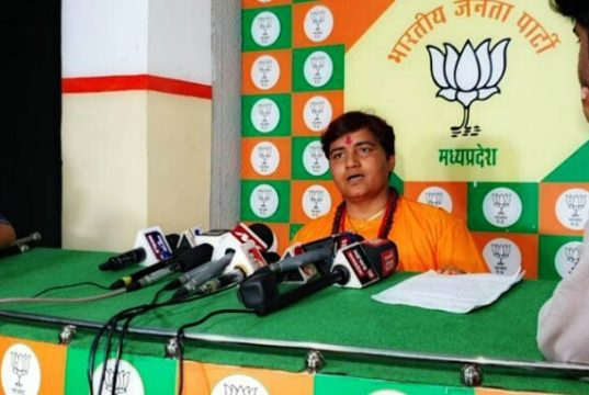 Pragya Thakur defends her remark on Nathuram Godse Patriot Remark, Nathuram Godse Patriot Remark, Bhopal MP Pragya Thakur Nathuram Godse Patriot Remark
