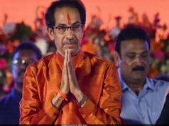 Uddhav Thackeray swears in as chief minister of Maharashtra, Maharashtra 2019 chief minister, Uddhav Thackeray chief minister of Maharashtra, Maharashtra chief minister ceremony at Shivaji park