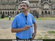 Yogesh Soman sent on force leave, Mumbai university prof Yogesh Soman sacked for commenting against Rahul Gandhi, prof Yogesh Soman against Rahul Gandhi