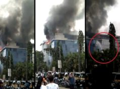 MIDC Rolta building fire, fire in Andheri MIDC, Rolta building fire