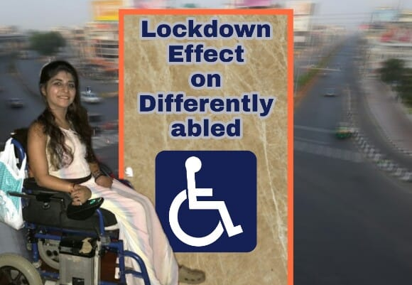 Lockdown effect on Differently-abled people, Divya Arora from Andheri West, Mumbai lockdown Effect on Differently-abled