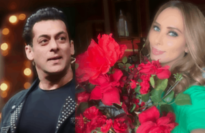 Salman Khan Accidentally Enters Lulia Vantur's live chat show, salman khan and lulia vantur, lulia vantur