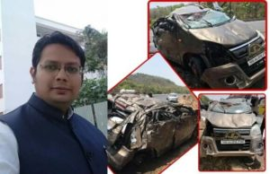 Adv. Digvijay Trivedi handling Killing of Sadhus killed in car accident, car accident of adv trivedi, sadhu killing in palghar