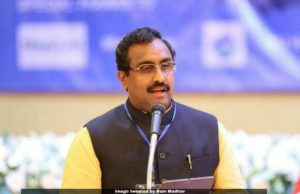 BJP leader Ram Madhav, BJP leader Ram Madhav slammed Anjuman-e-Haideri for Islamophobia in India comment, islamophobia