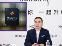 Honor President of Business Unit Zhao Ming in press conference, MediaTek 5G chipset in honoro smartphones