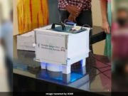 UViC Device by ICAR-CIPHET, UV-C device by Ludhiana, COVID 19 fight UV-C device, ICAR invents UV based sanitisers