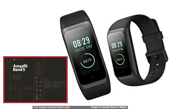 Amazfit Band 5 details leaked in FCC Listing, FCC listing on Amazfit Band 5, Mi Band 5 competition, Smartband by Huami, Huami Amazfit Band 5,