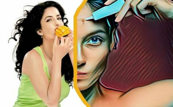 Does Mango eating increase the chances of acne problems, mango increases the chance of acne problems, does mango eating increase skin problems