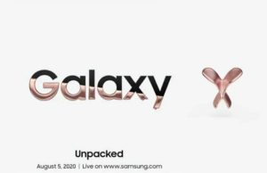Galaxy Z Fold 2 launch in Unpacked event on August 5, Galaxy Z Fold 2 launch date, Galaxy Unpacked event on August 5,
