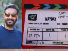 Ajay Devgn's Mayday began shooting from today