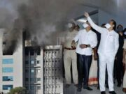 Highlights of Fire at SII, SII in fire, Fire at Serum