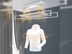 UV Light enabled Clothes Dryer for disinfecting clothes