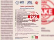 ICMR refutes social media post with COVID guidelines
