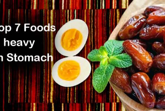 Top 7 Foods that are heavy even with small intake, Dates heavy on stomach, eggs heavy on stomach